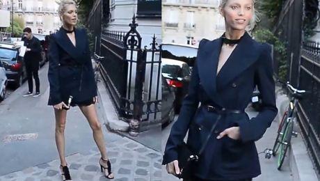 Rubik przed galą Fundacji Vogue w Paryżu