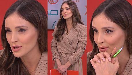 Przejęta Marina w TVN ie Dopiero dzisiaj zdałyśmy sobie sprawę jaką ciężką funkcją jest bycie jurorem