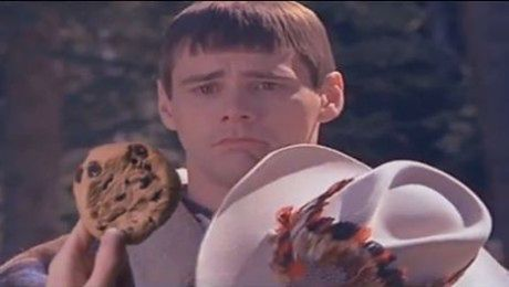 Jim Carrey nie chce jeść ciastka