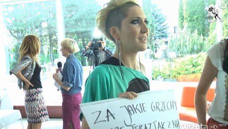 Na planie klipu Magdy Steczkowskiej