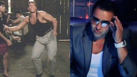 Van Damme w klipie Ona tańczy dla mnie