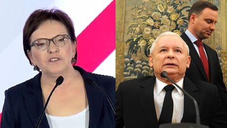 Kopacz apeluje Panie prezesie Kaczyński niech pan się zacznie uśmiechać do ludzi