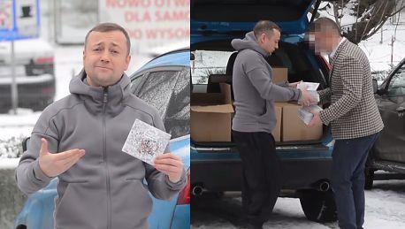 Mozil rozdaje swoje płyty z bagażnika