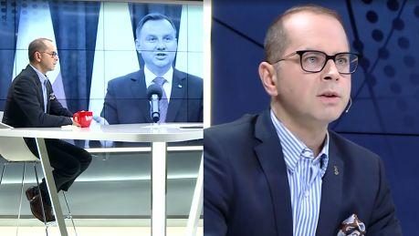 Michał Szczerba komentuje referendum konstytucyjne PiS bawi się z prezydentem