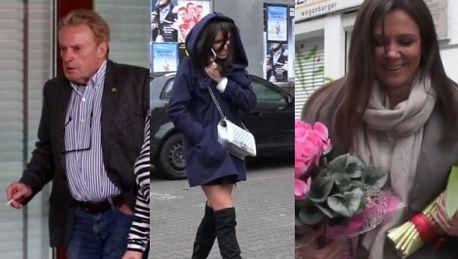 GWIAZDY POD TVN em Rusin uciekająca przed fanką wkurzony Olbrychski atak śmiechu Siwiec