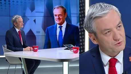 Robert Biedroń Nie buchnąłem białego konia Donaldowi Tuskowi