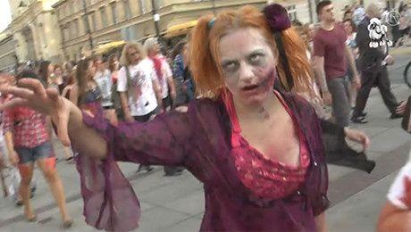 Zombie na ulicach Warszawy