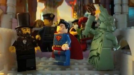 LEGO film jest trailer filmu o klockach