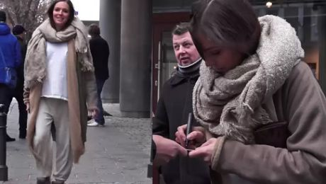 Ciężarna Wendzikowska w dresie pod TVN em