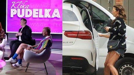 Anna Lewandowska łamie przepisy drogowe Jeżeli człowiek się spieszy ukręcić kulki mocy to nic dziwnego że zapomina o przepisach