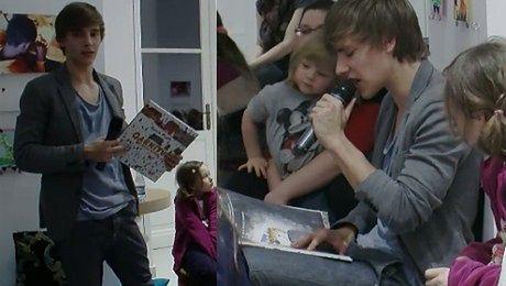 Musiał czyta dzieciom