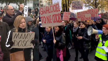 Tak wyglądał II Ogólnopolski Strajk Kobiet Chcę żyć w wolnym kraju