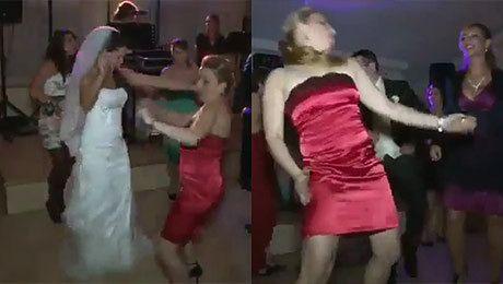 Tak się tańczy na weselu Poniosło ją