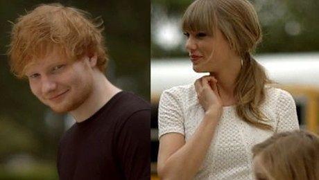 Taylor Swift w nowym teledysku z Edem Sheeranem
