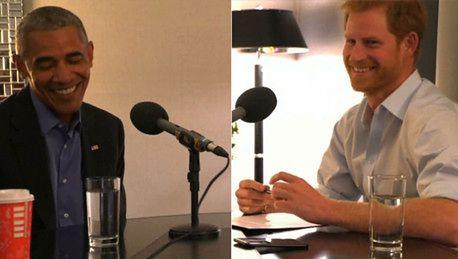 Kulisy wywiadu księcia Harry ego z Obamą Czy muszę używać brytyjskiego akcentu