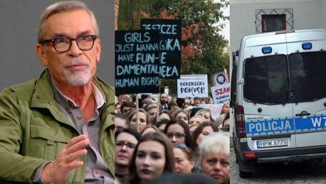 Nalot policji na organizacje kobiece Żakowski oburzony To niedopuszczalne w cywilizowanym kraju