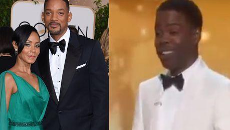 Chris Rock na rozdaniu Oscarów Jestem tutaj na rozdaniu nagród białych ludzi