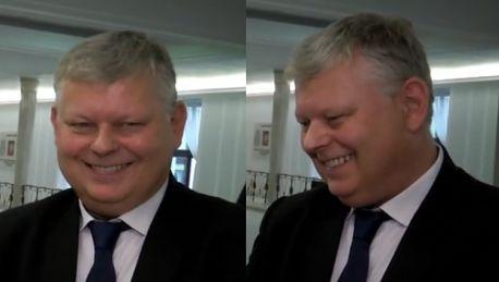 PUDELEK W SEJMIE Marek Suski Prezes Kaczyński nie ma żony więc nie ma dzieci