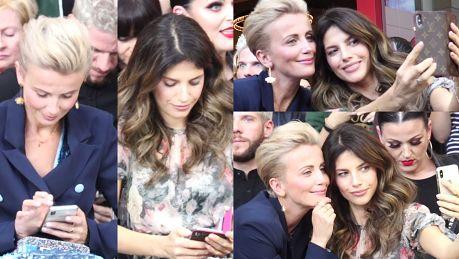 Rosati i Zielińska szczerzą zęby do selfie