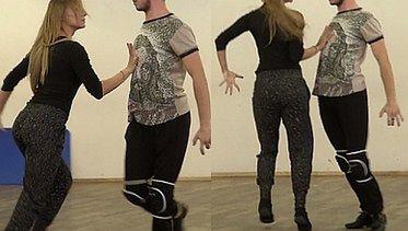 Janek Mela tańczy paso doble