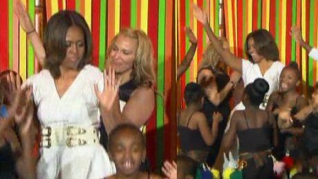 Michelle Obama TAŃCZY W TALENT SHOW