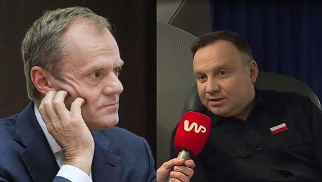 Duda grzmi Tusk NIE MA SZACUNKU do Polski