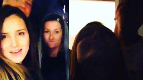 Wspólne wideo Mariny i Szczęsnego