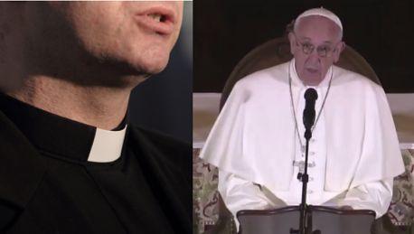 Papież o księżach pedofilach Bóg płacze Takie grzechy nie mogą trzymane w tajemnicy