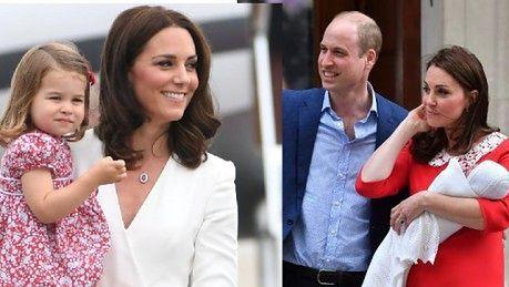 Księżna Kate i książę złamali protokół po porodzie To szaleństwo William miał pognieciony garnitur