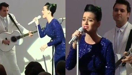 Katy Perry wystąpiła w Białym Domu