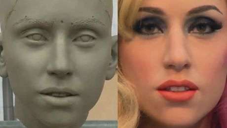 Zobaczcie jak powstawała woskowa Lady GaGa