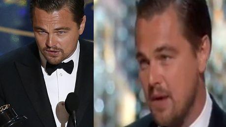 DiCaprio odbiera swojego pierwszego Oscara