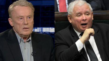 Olbrychski o Kaczyńskim MARTWIĘ SIĘ O NIEGO Jest bardzo wysoko a z góry się boleśnie upada