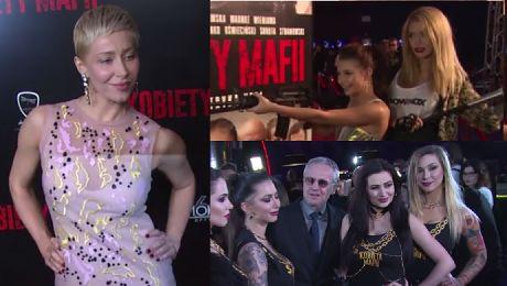 Wieniawa z karabinem i Linda otoczony hostessami promują Kobiety Mafii