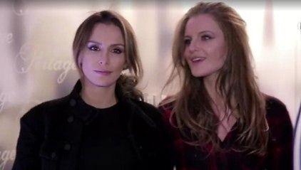 Sara Boruc z siostrą na pokazie Kupisza