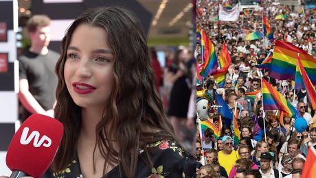 Julia Wieniawa wspiera paradę równości Pojawię się tam ubrana we flagę