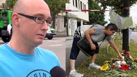 Polak z Monachium o zamachu Rozległy się strzały to był straszny widok Widzieliśmy ludzi leżących na chodniku