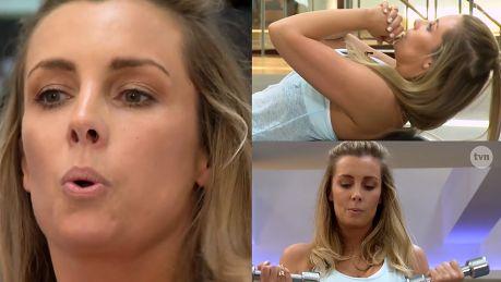 Ferenstein Kraśko zaprosiła kamerę TVN na siłownię Ciało rozsypało się na kawałki Nie chcesz wiedzieć jak wygląda brzuch po trzech ciążach