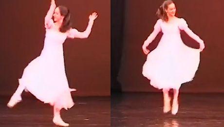 14 letnia Lesz tańczy w Operze Narodowej