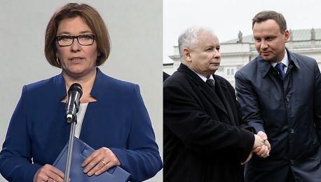 Rzeczniczka PiS Prezes Kaczyński wielokrotnie mówił że konstytucja wymaga zmiany