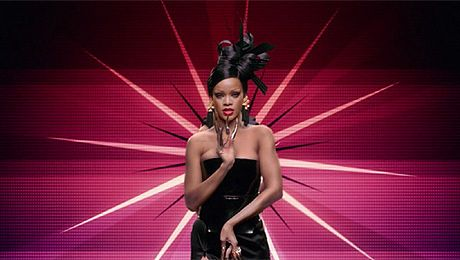 Rihanna jako gejsza
