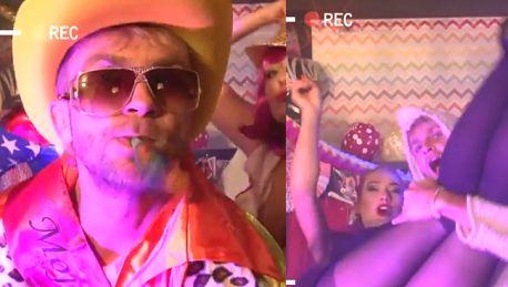 Były chłopak Herbuś nagrał teledysk disco polo