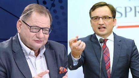 Kalisz atakuje Ziobro Robi wodę z mózgu polskim obywatelom