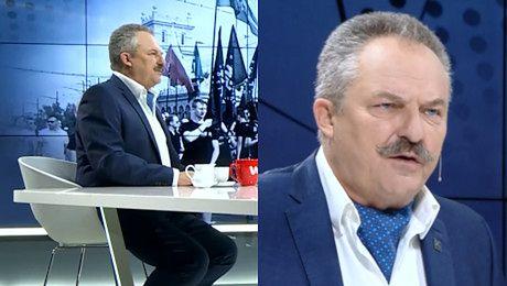 Natchniony Jakubiak barwnie o przeciwnikach politycznych Zamknęli się w skorupce W tej skorupce siedzą robaczki