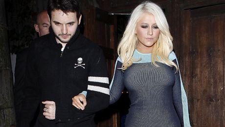 Szczuplejsza Aguilera z chłopakiem