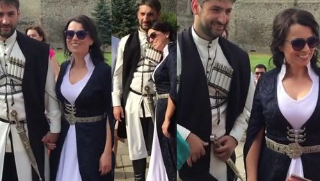 Katarzyna Pakosińska wzięła ślub w Gruzji WIDEO