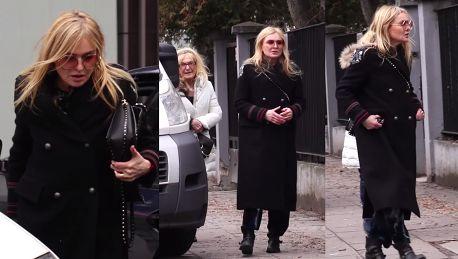 Olejnik z mamą i torebką Valentino za 10 tysięcy złotych wybrała się na obiad