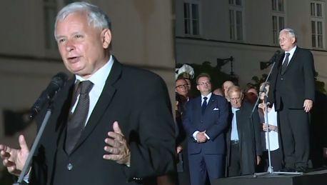 Kaczyński na 88 miesięcznicy smoleńskiej Po 96 marszach będziemy mogli powiedzieć koniec bo zwyciężyliśmy