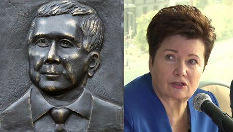 Gronkiewicz Waltz o tablicy poświęconej Kaczyńskiemu Nie jest legalna Będzie kontrola