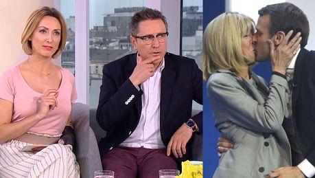 Dzień Dobry TVN pyta Czego nie wypada kobiecie w pewnym wieku W roli głównej Brigitte Macron…